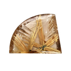 Rock Crystal with Rutile 87.76 ct.