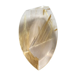 Rock Crystal with Rutile 119.03 ct.