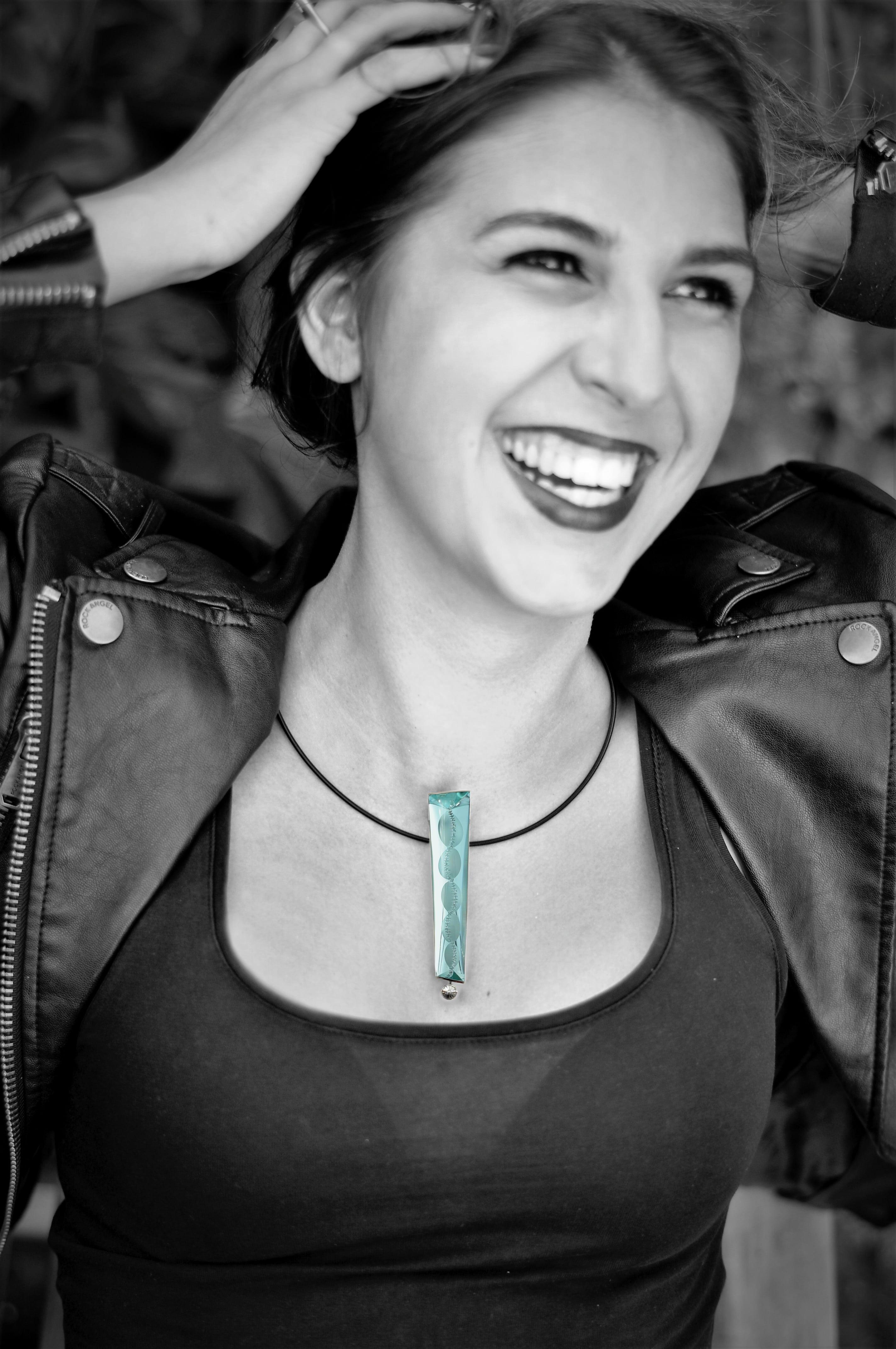 Fotomodell Halskette